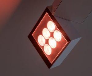 LED RGBW armaturen